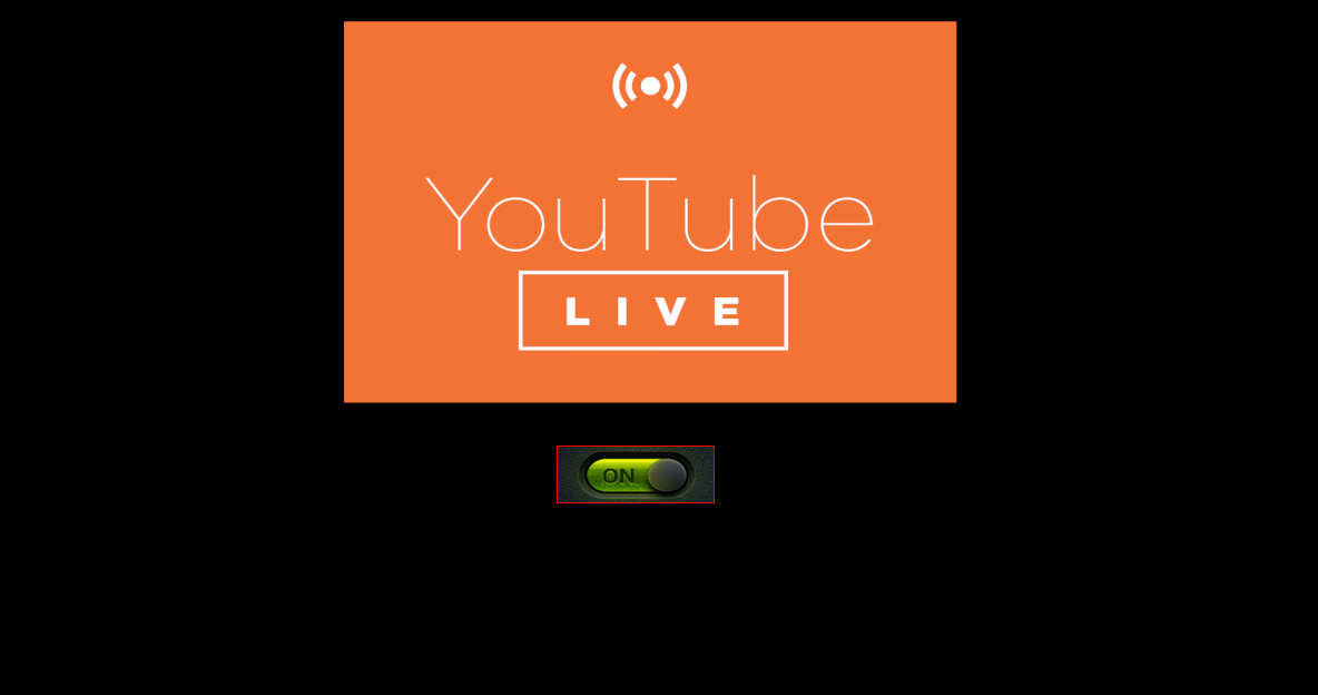 make live youtube streaming